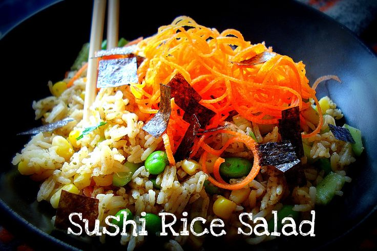 Sushi Rice Salad | Salads and Soups | Pinterest