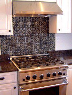 Kitchen Backsplash Tin 20 best tin backsplashes images on pinterest | kitchen ideas