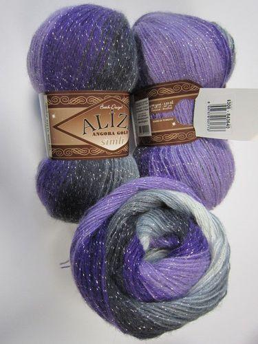Buy Angora gold batik simli Yarn from Alize Online | Yarnstreet.com