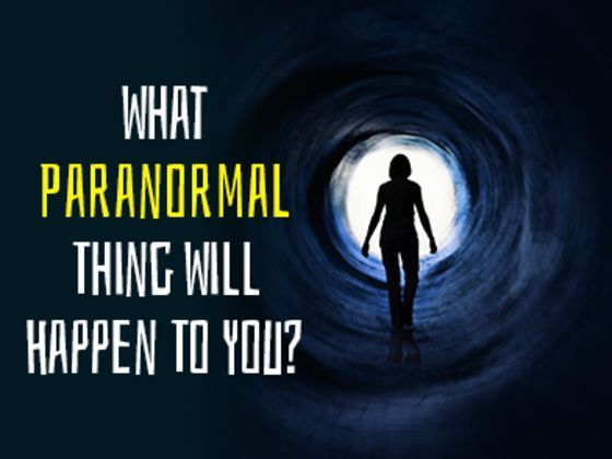 What type of paranormal activity will make its way into your life? [Of course I got visitation from my off-world friends... take me back home, damnit! These humans suck...]