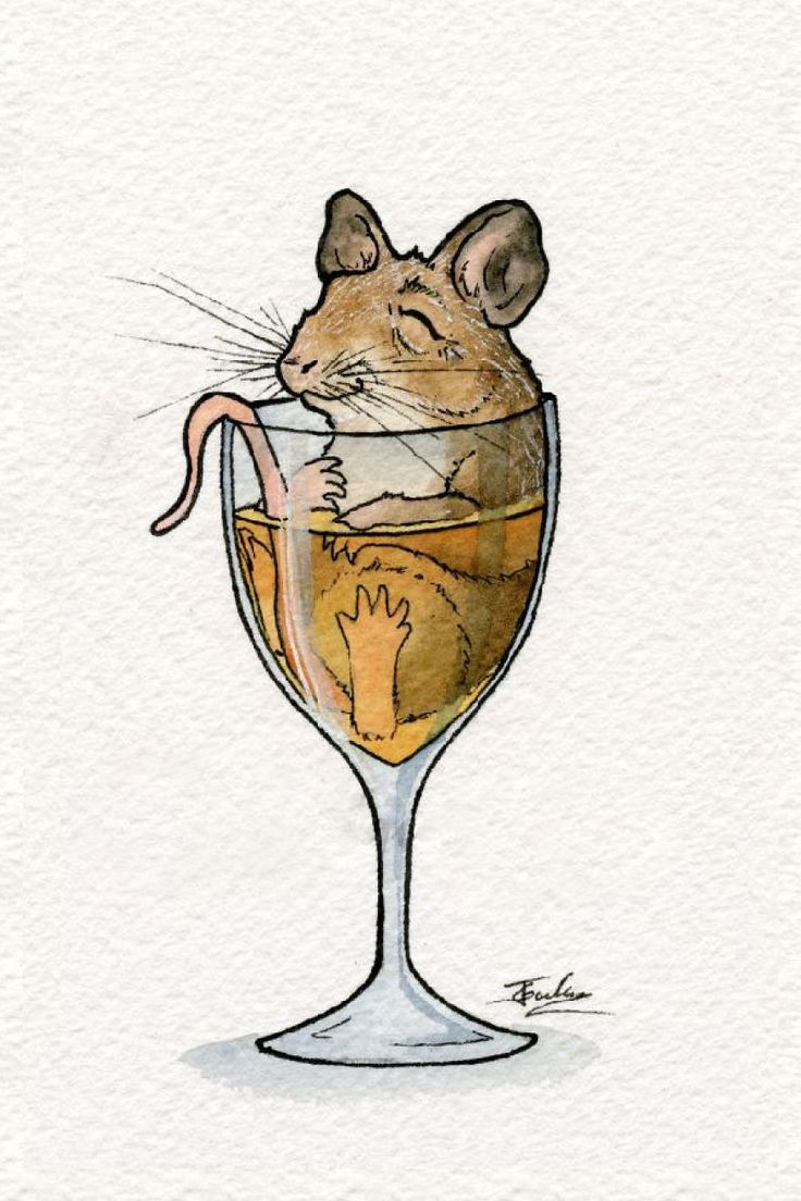 Watercolor Artist And Home Brewer Creates Cute Drawings Of Animals Chilling Out In Booze  [Bored Panda](https://www.boredpanda.com/watercolor-animal-paintings-drinking-buddies-jon-guerdrum/)