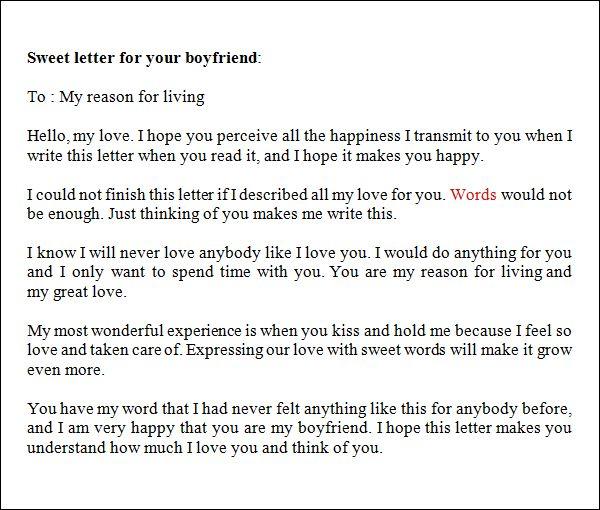25 best ideas about Love Letter To Boyfriend – Boyfriend Thank You Letter Sample