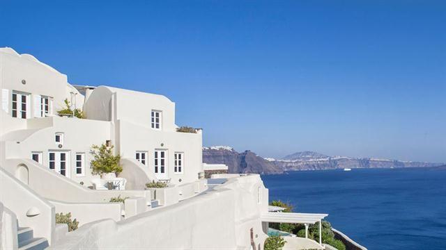 Cuáles son los mejores hoteles del mundo  Canaves Oia Hotel, en Grecia. Foto: canaves.com