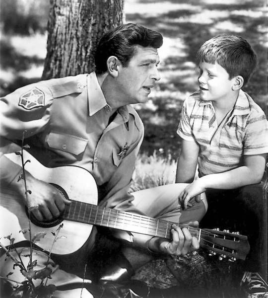 """The Andy Griffith Show"".  Hearing Andy Griffith died was like losing Mister Rogers all over again..."