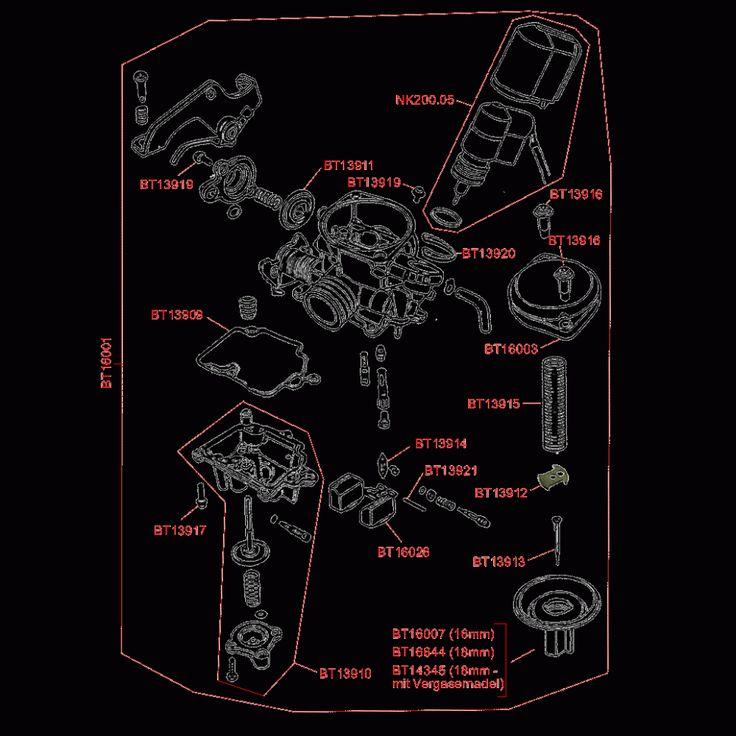 Gy6 150cc Carburetor Diagram Manual Guide
