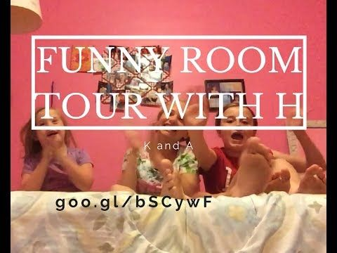 FUNNY ROOM TOUR WITH H - YouTube