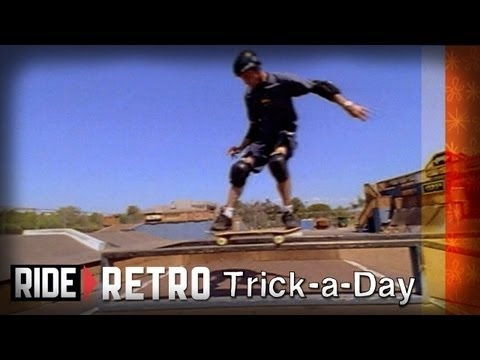Learn a new trick each and every day from top pros. You'll get step-by-step instructions on how to master every trick in skateboarding! Tune in seven days a week to learn something new.    Jump into the vault with Tony Hawk and Brian Sumner : Frontside 50-50 Grind