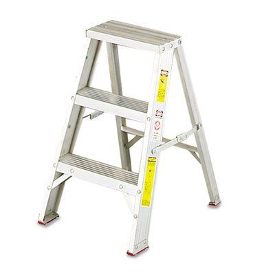 Louisville L231102 - #429 Aluminum Two-Step Stool w/Side Locks 16  sc 1 st  Pinterest & 21 best Step Ladders and Chairs images on Pinterest | Ladders ... islam-shia.org