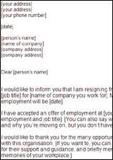 resignation letters leaving your job a thoughtful