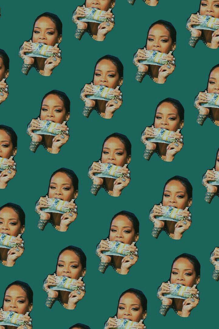 Riri Is A Vibe Drake Wallpapers Rihanna Bad Girl Wallpaper