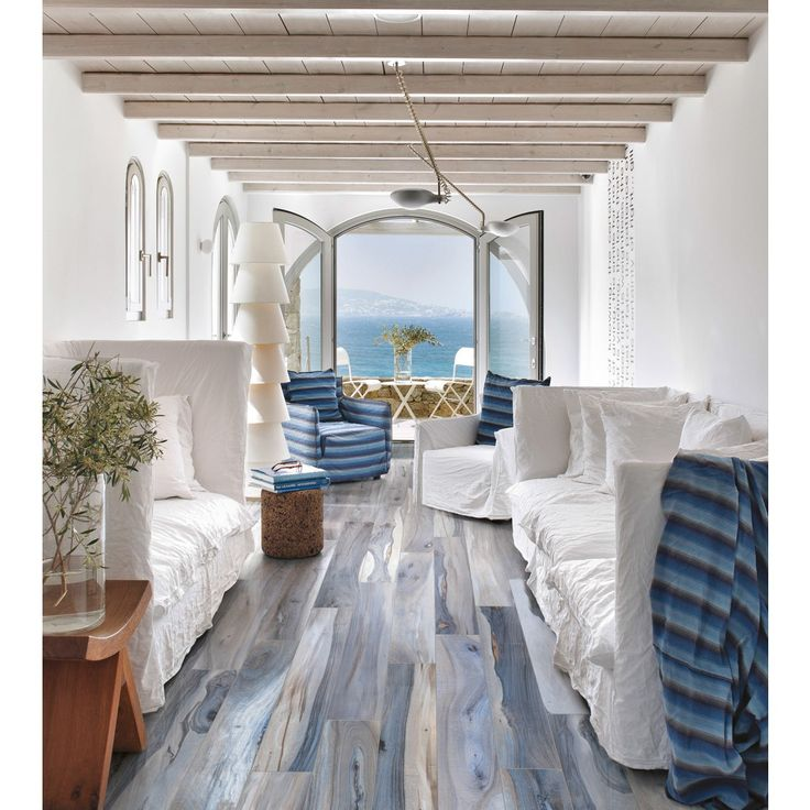 Kauri Tasman 8X48 Porcelain Tile | Shop these gorgeous tiles and more at www.TileBar.com.