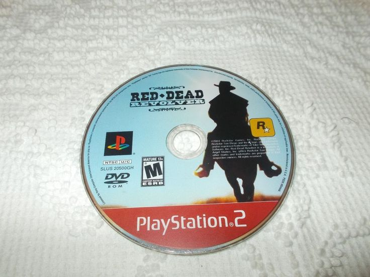PlayStation 2 PS2 Red Dead Revolver Video Game Disk Only