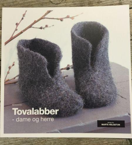 hifa oppskrifter   Hjem » Mønster » Oppskrifter » Tovalabber -dame og herre av Marte ...
