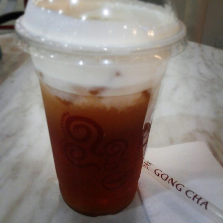 Milk Winter Melo Tea @ Gong Cha