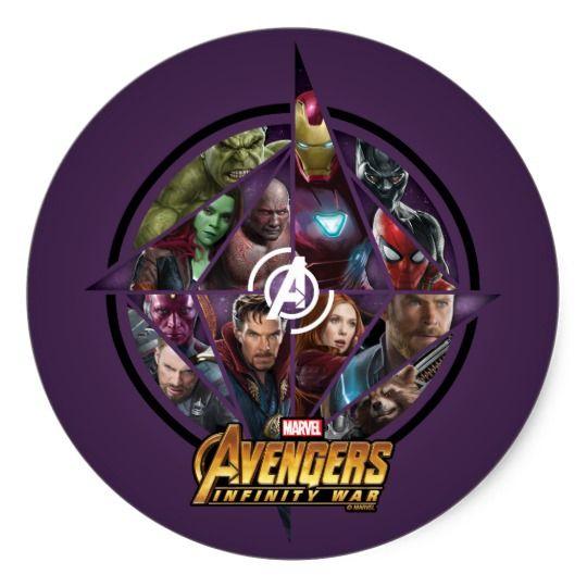 Avengers Infinity War Geometric