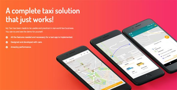 Taxi application Android solution + Dashboard | design | Taxi app