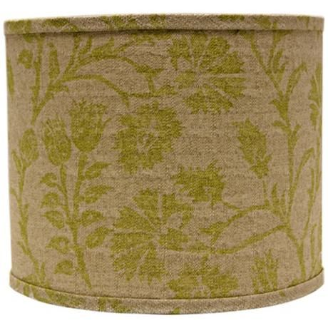 Best 25 green lamp shade ideas on pinterest diy projects lamp muted green floral lamp shade 16x16x13 spider aloadofball Images