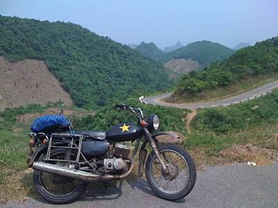 Black MINSK 125cc