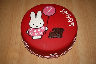 cake Nijntje / Miffy, I love this one!