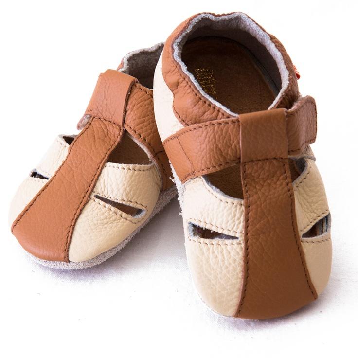 Liliputi® Soft Baby Sandals Atacama Beige  #soft #liliputi #babysandals