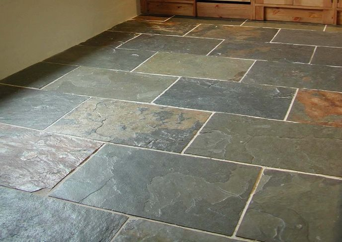 Find This Pin And More On External Patios Slate Layout By Adeleraynes.  Flooring Slate, Slate Tiles ...