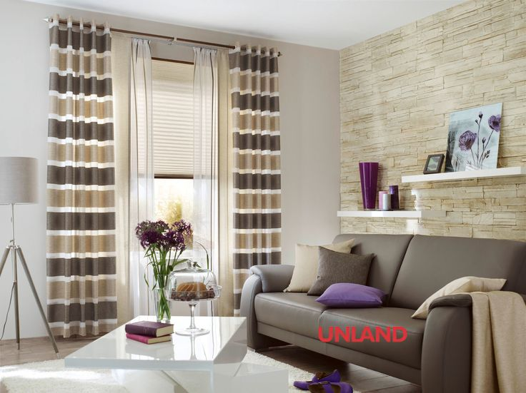 Unland Reet, Fensterideen, Vorhang, Gardinen und Sonnenschutz - curtains, contract fabrics, pleated blinds, roller blinds and more. Made in Germany