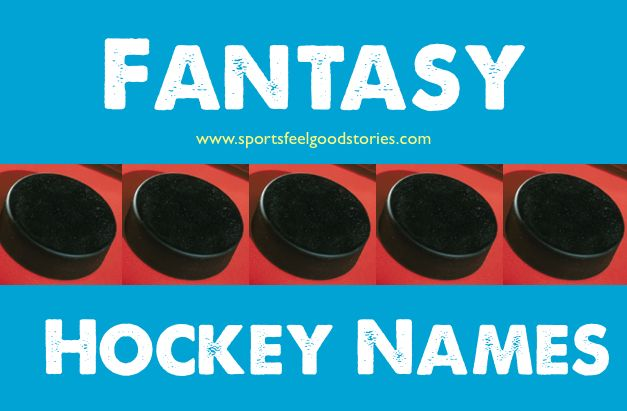 Fantasy hockey team names to ice your opponents.