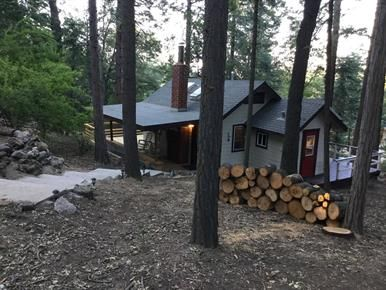 Cabin for sale - Palomar Mountain, North County, San Diego #cabin #cabindesign #vacationhome #homeforsale #livepeacefully #liveinnature #palomar #palomarmountain #sandiego