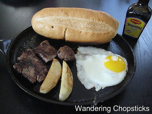 "Wandering Chopsticks: Vietnamese Food, Recipes, and More: Bo ""Ne"" Bit Tet (Vietnamese ""Stand Back"" Beef Steak)"