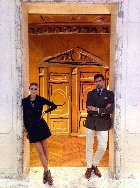 【ELLEgirl】オリヴィア・パレルモ、夫ヨハネス・ヒューブルとパリのファッションウィークへ! エル・ガール・オンライン