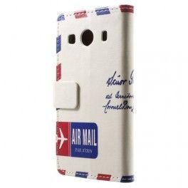 Galaxy ace 4 lentoposti puhelinlompakko