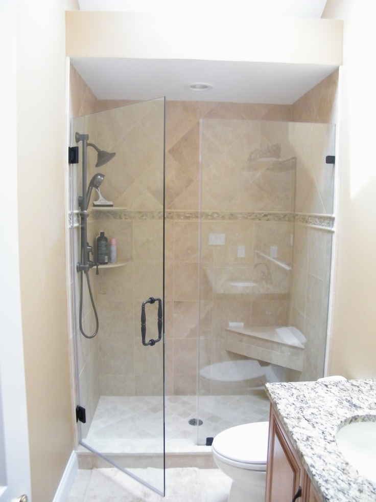 Notice It Does Not Obstruct The Bathroom Toilet And Is An Alternative To  Glass Sliding Doors. We Can Design Any Shower ...