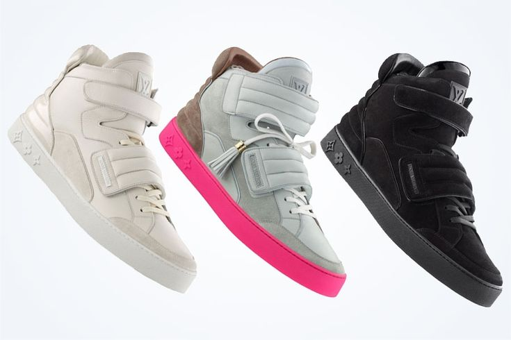 A History Of Kanye West S Sneaker Collabs Sneakernews Com Sneakers Fashion Louis Vuitton Men Girls Sneakers