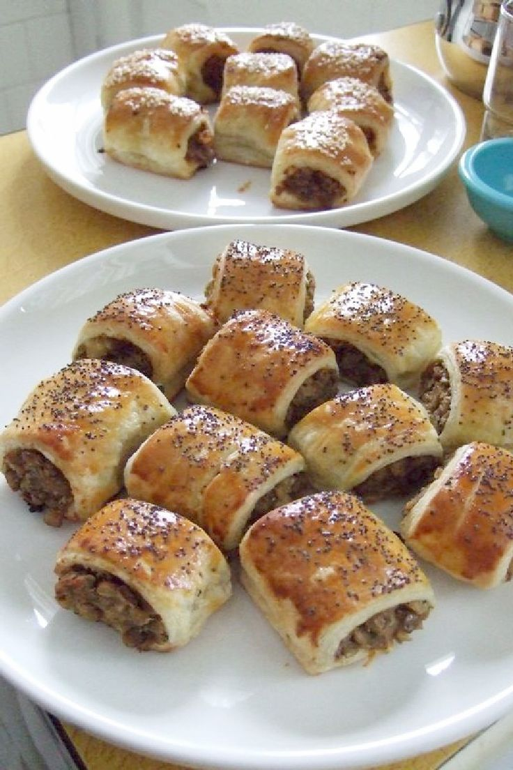 Sausage Crescent Rolls with Cream Cheese Recipe