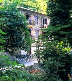 Milies, one of the most picturesque villages on Pelion mountain, Greece