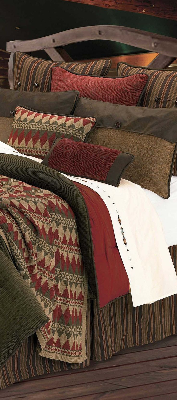 Western bedding for girls - Wilderness Rustic Bedding Collection