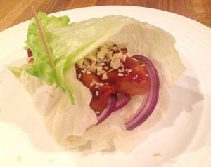 Honey Chilli Chicken Wraps