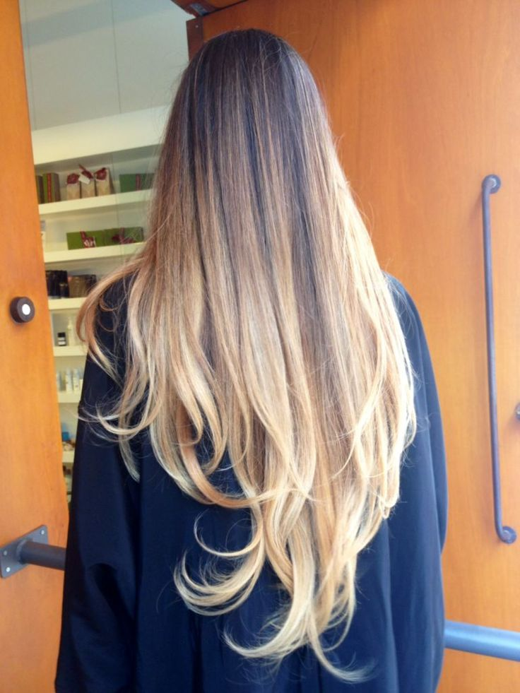 + de 100 Fotos de Mechas californianas 2016: Pelo largo con ondas al final