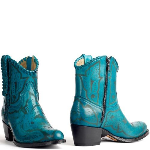 Sendra cowboylaarzen turquoise 13409 - Cowboyboots with print in turquoise. International shipping -> free shipping in Europe. E-mail us! https://www.boeties.nl/sendra-cowboylaarzen-turquoise-13409