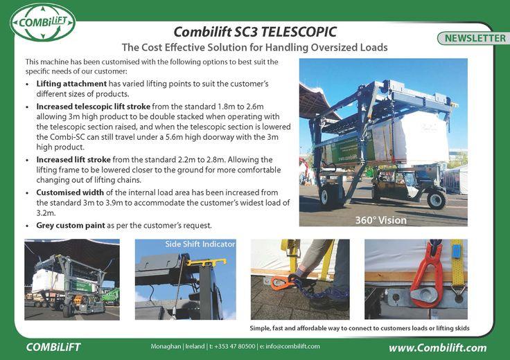 Combi-SC3 Telescopic May Newsletter