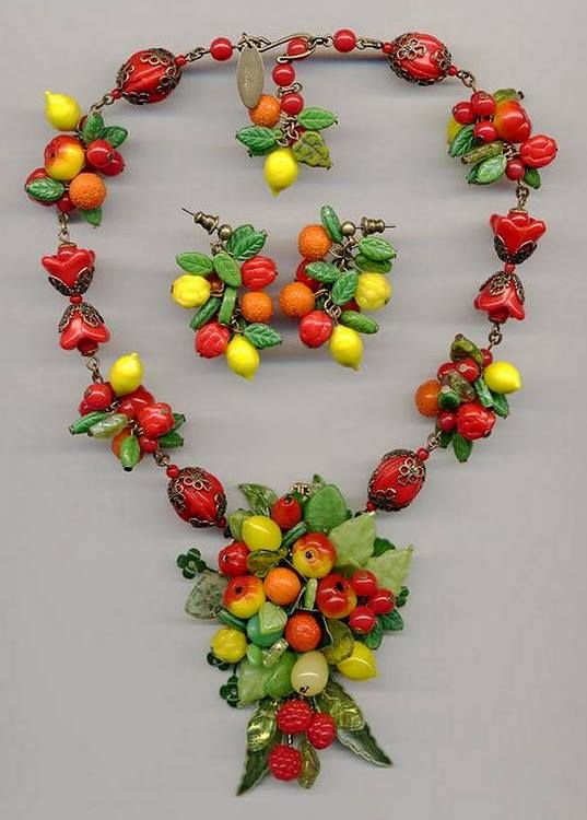 fruit jewelry 34 best images about vintage fruit jewelry on 6911