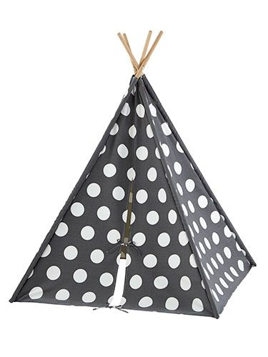 Fun Holiday Gifts fro those little chic Indians! Super cute polka dotted tent for little kids rooms.