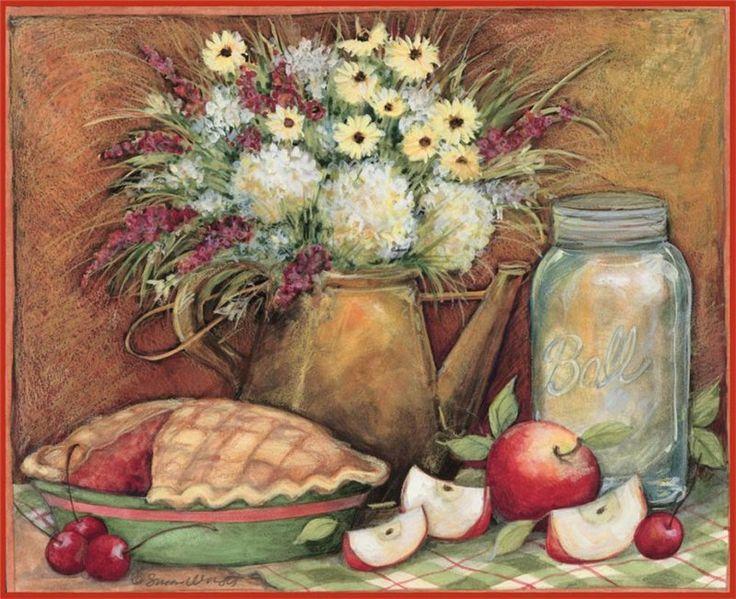 Американская художница Susan Winget.