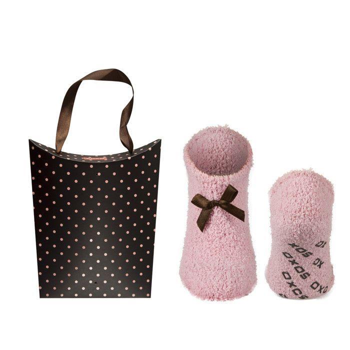 SOXO Women's set: chenille socks with matching bag   WOMEN \ Socks   SOXO socks, slippers, ballerina, tights online shop