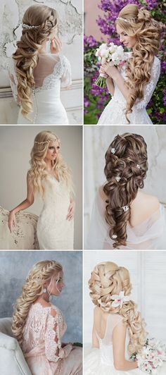 30 Seriously Hairstyles for Weddings (with Tutorial) | http://www.deerpearlflowers.com/30-seriously-hairstyles-for-weddings-with-tutorial/