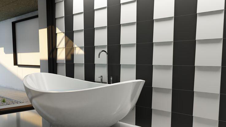 Delta L & Liso 25. 3D ceramic surfaces. Tile. WOW #unexpectedsurfaces
