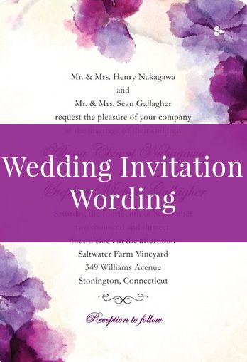 Best 20 invitation wording ideas on pinterest wedding for Wedding invitation stuffing etiquette