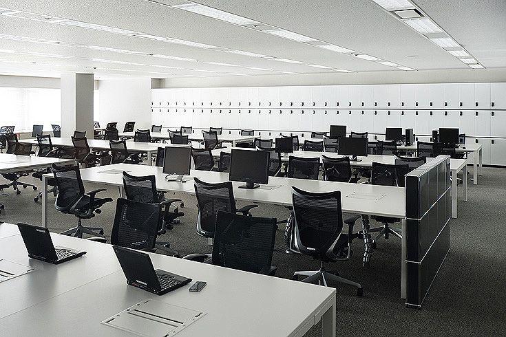 DAC【東京】のオフィスデザイン事例を手がけた有限会社プラスタック。【オフィスデザイナーズ】