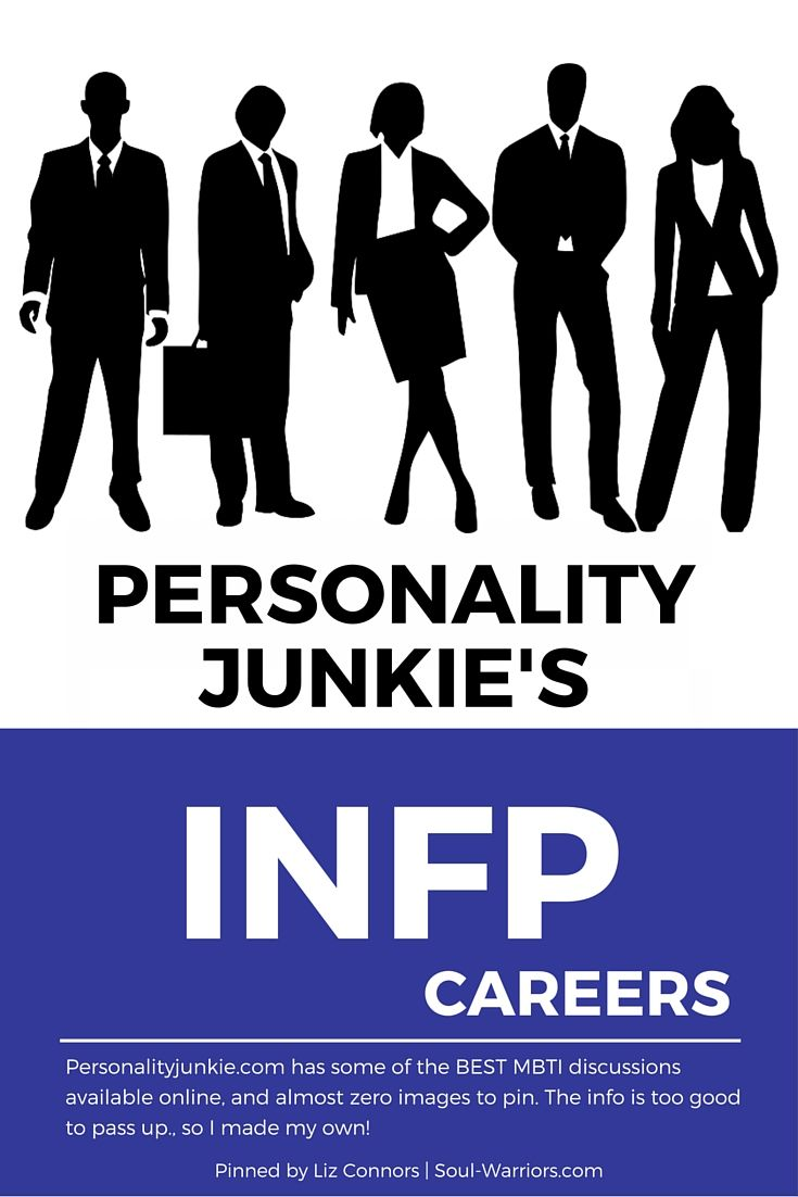 Click through to read Personality Junkie's take on careers for INFPs: http://personalityjunkie.com/infp-careers-jobs-majors/