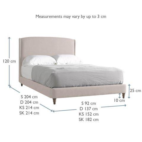 LOAF BED Upholstered bed £945